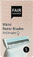 Parfüm, Parfüméria, kozmetikum Borotva pótfej - Fair Squared Bikini Razor Blades