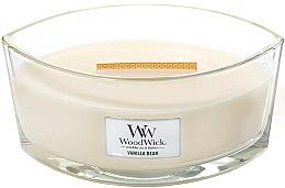 Parfüm, Parfüméria, kozmetikum Illatosított gyertya pohárban - WoodWick Hearthwick Flame Ellipse Candle Vanilla Bean