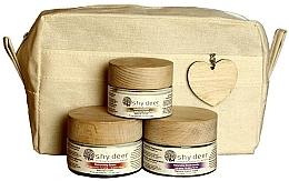 Parfüm, Parfüméria, kozmetikum Szett száraz és normál bőrre - Shy Deer Natural Ritual Set (cr/mask/50ml+cr/50ml+eye/cr/30ml+bag)