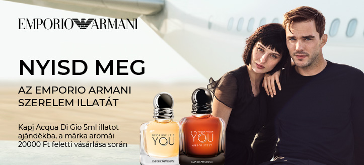 Giorgio Armani akció