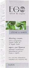Parfüm, Parfüméria, kozmetikum Borotválkozó krém - ECO Laboratorie Man's Shaving Cream Cedar & Karite