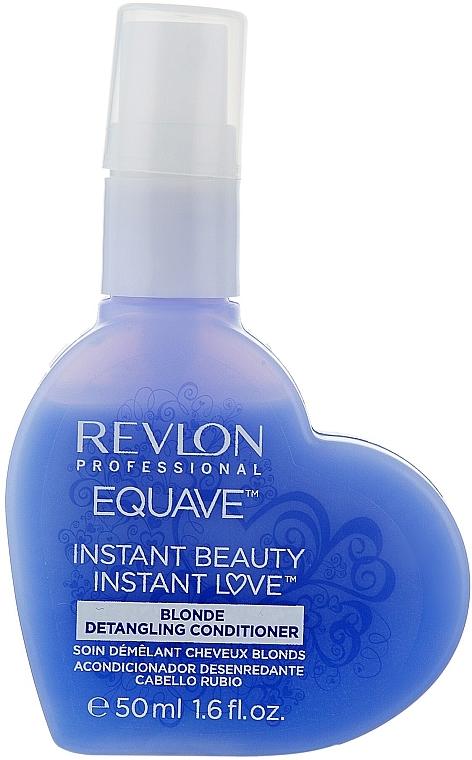 Keratinos kondicionáló szőkített hajra - Revlon Professional Equave 2 Phase Blonde Detangling Conditioner — fotó N5