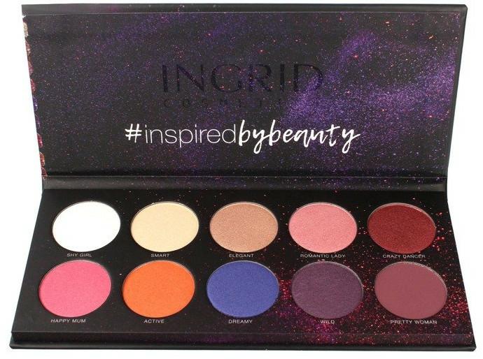 Szemhéjfesték paletta - Ingrid Cosmetics Colors Matt & Glam Palette
