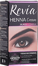 Parfüm, Parfüméria, kozmetikum Henna krém szemöldökre - Revia Eyebrows Henna