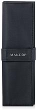 """Parfüm, Parfüméria, kozmetikum Sminkecset tok, 5 ecsetre, fekete """"Basic"""" - Makeup"""