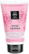 Parfüm, Parfüméria, kozmetikum Alakformáló krém - Apivita Rose Pepper Firming & Reshaping Body Cream