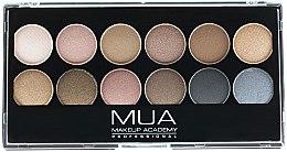 Parfüm, Parfüméria, kozmetikum Szemhéjfesték paletta - MUA Undressed Eyeshadow Palette