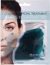 Parfüm, Parfüméria, kozmetikum Kollagénterápia tengeri nyomelemekkel - Beauty Face Collagen Hydrogel Mask