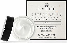 Parfüm, Parfüméria, kozmetikum Öregedésgátló krém szemkörnyékre - Avant Skincare Pro-Radiance Brightening Eye Final Touch
