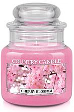 """Parfüm, Parfüméria, kozmetikum Illatgyertya """"Virágzó meggy"""" üvegben - Country Candle Cherry Blossom"""