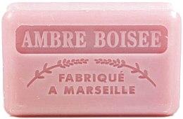 """Parfüm, Parfüméria, kozmetikum Marseillaise szappan """"Fás borostyán"""" - Foufour Savonnette Marseillaise Ambre Boisee"""