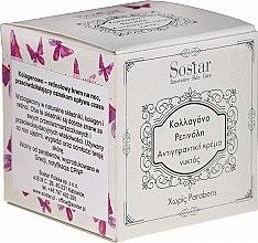 Parfüm, Parfüméria, kozmetikum Éjszakai ránctalanító arckrém kollagénnel és retinollal - Sostar Collagen Retinol Anti-Wrinkle Night Cream