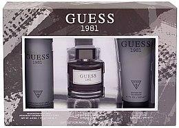 Parfüm, Parfüméria, kozmetikum Guess 1981 For Men - Szett (edt/100ml + sh/gel/200ml + deo/226ml)