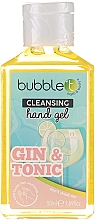 """Parfüm, Parfüméria, kozmetikum Kézfertőtlenítő gél """"Gin and Tonic"""" - Bubble T Cleansing Hand Gel Gin & Tonic"""