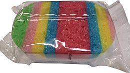 Parfüm, Parfüméria, kozmetikum Fürdőszivacs, ovális, 499118, piros-kék - Inter-Vion