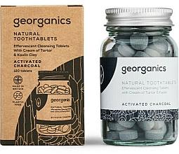"""Parfüm, Parfüméria, kozmetikum Fogtisztító tabletta """"Aktív szén"""" - Georganics Natural Toothtablets Activated Charcoal"""