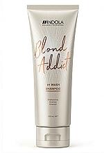 """Parfüm, Parfüméria, kozmetikum Sampon minden hajtípusra """"Blond"""" - Indola Blond Addict Shampoo"""