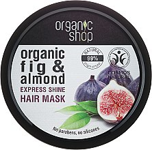 "Parfüm, Parfüméria, kozmetikum ""Görög füge"" hajmaszk - Organic Shop Organic Fig Tree and Almond Hair Mask"