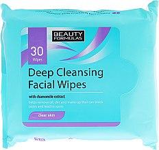 Parfüm, Parfüméria, kozmetikum Nedves törlőkendő arcra - Beauty Formulas Deep Cleansing Facial Wipes