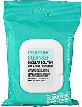 Parfüm, Parfüméria, kozmetikum Tisztító micellás törlőkendő zsíros bőrre - Comodynes Purifying Cleanser Oily & Acne Prone Skin