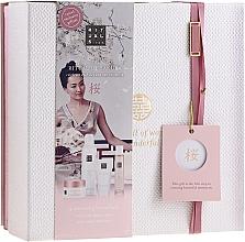 Parfüm, Parfüméria, kozmetikum Szett - Rituals The Ritual Of Sakura (sg/gel/200ml + b/cr/70ml + mist/50ml + scrub/125g)