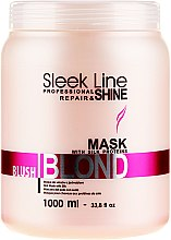 Hajmaszk - Stapiz Sleek Line Blush Blond Mask — fotó N3