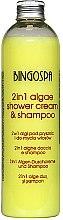 Parfüm, Parfüméria, kozmetikum Hajápoló sampon - BingoSpa 2 in 1 Algae Shower Cream & Shampoo