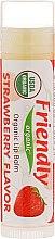 "Parfüm, Parfüméria, kozmetikum Ajakbalzsam ""Eper"" - Friendly Organic Lip Balm Strawberry"