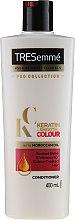 Parfüm, Parfüméria, kozmetikum Kondicionáló a festett haj ragyogásához és lágyításához - Tresemme Keratin Smooth Colour Conditioner With Maroccan Oil