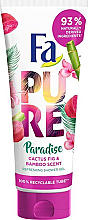 """Parfüm, Parfüméria, kozmetikum Tusfürdő """"Kaktusz és bambusz"""" - Fa Pure Paradise Shower Gel Cactus & Bamboo"""