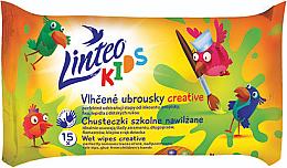 Parfüm, Parfüméria, kozmetikum Nedves törlőkendő gyerekenek - Linteo Kids Creative