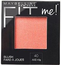 Parfüm, Parfüméria, kozmetikum Arcpirosító - Maybelline Fit Me Blush