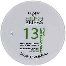 Parfüm, Parfüméria, kozmetikum Matt modellező hajpaszta - Dikson Finish Keiras Pasta Modellante Opaca 13