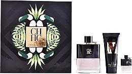 Parfüm, Parfüméria, kozmetikum Carolina Herrera CH Men Prive - Szett(edt/100ml + ash/balm/100ml + edt/mini/7ml)