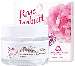 Parfüm, Parfüméria, kozmetikum Fiatalító arckrém - Bulgarian Rose Rose & Joghurt Rejuvenating Face Cream