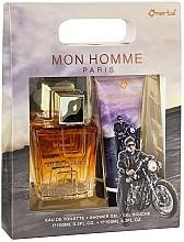 Parfüm, Parfüméria, kozmetikum Omerta Paris Mon Homme - Szett (edt/100ml + sh/gel/100ml)