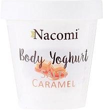 "Parfüm, Parfüméria, kozmetikum Testápoló joghurt ""Sós karamell"" - Nacomi Body Jogurt Salt Caramel"