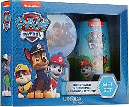 Parfüm, Parfüméria, kozmetikum Készlet - Uroda Paw Patrol Boy (sh/gel/250ml + sponge + stickers)