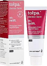 Parfüm, Parfüméria, kozmetikum Éjszakai regeneráló arckrém - Tolpa Dermo Face Relift 45+ Night Cream