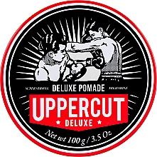Parfüm, Parfüméria, kozmetikum Hajformázó pomádé erős fixálás - Uppercut Deluxe Pomade Barber Tin