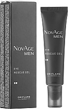 Parfüm, Parfüméria, kozmetikum Szemkörnyékápoló gél - Oriflame NovAge Men Eye Rescue Gel