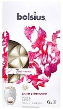 """Parfüm, Parfüméria, kozmetikum Illatosított viasz """"Rózsa és borostyán """" - Bolsius True Moods Pure Romance Rose & Amber"""