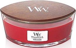 Parfüm, Parfüméria, kozmetikum Illatosított gyertya pohárban - Woodwick Candle Ellipse Jar Pomegranate