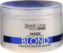 Parfüm, Parfüméria, kozmetikum Hajmaszk - Stapiz Sleek Line Blond Hair Mask