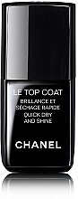 Parfüm, Parfüméria, kozmetikum Bázis lakk - Chanel Le Top Coat Nail Brilliance Et Quick Dry And Shine