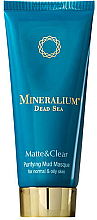 Parfüm, Parfüméria, kozmetikum Szövetmaszk normál és zsíros bőrre - Minerallium Purifying Mud Masqu
