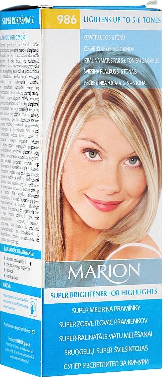 Szőkítő krém №986 - Marion Super Brightener