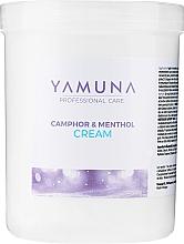 "Parfüm, Parfüméria, kozmetikum Masszázs krém ""Kámfor-mentol"" - Yamuna Camphoros Mentolos Cream"