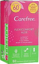 Parfüm, Parfüméria, kozmetikum Egészségügyi betét, 60 db - Carefree Flexi Comfort Aloe Extract