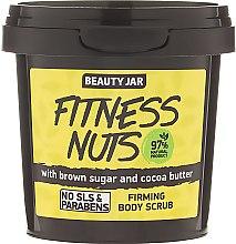 """Parfüm, Parfüméria, kozmetikum Bőrradír """"Fitness Nuts"""" - Beauty Jar Firming Body Scrub"""